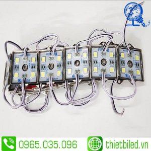 LED hắt cụm 4 bóng đế sắt 5054