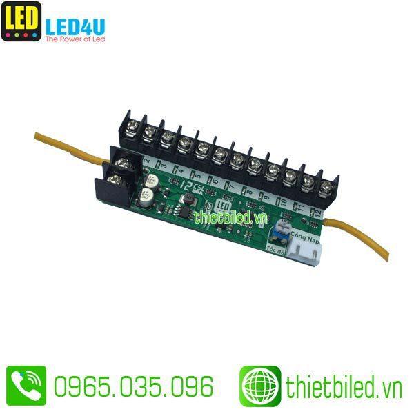 Mạch LED vẫy 12 kênh 30A