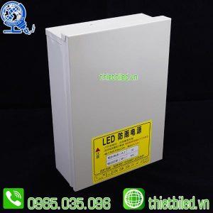 Nguồn 12V34A chống nước vỏ sắt