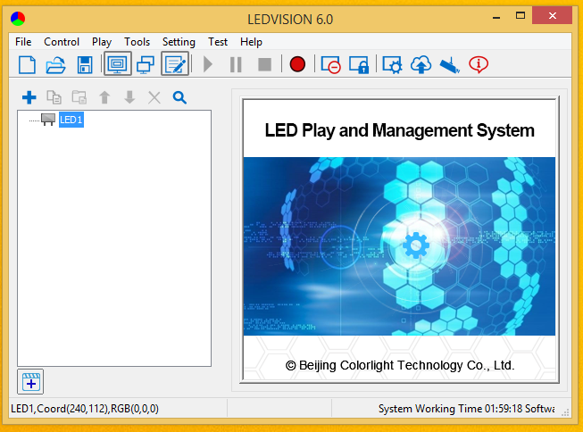 Phần mềm LEDVISION