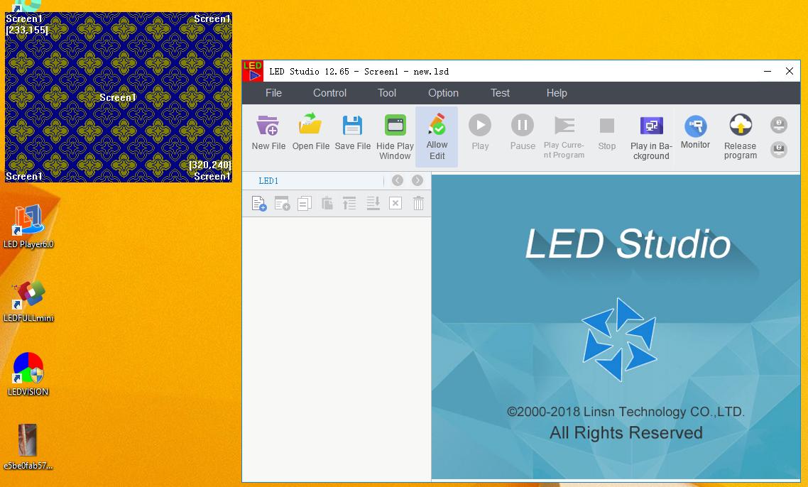 Phần mềm LED Studio 12.65
