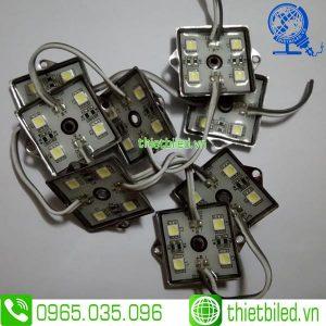 LED hắt cụm 4 bóng đê sắt 5050